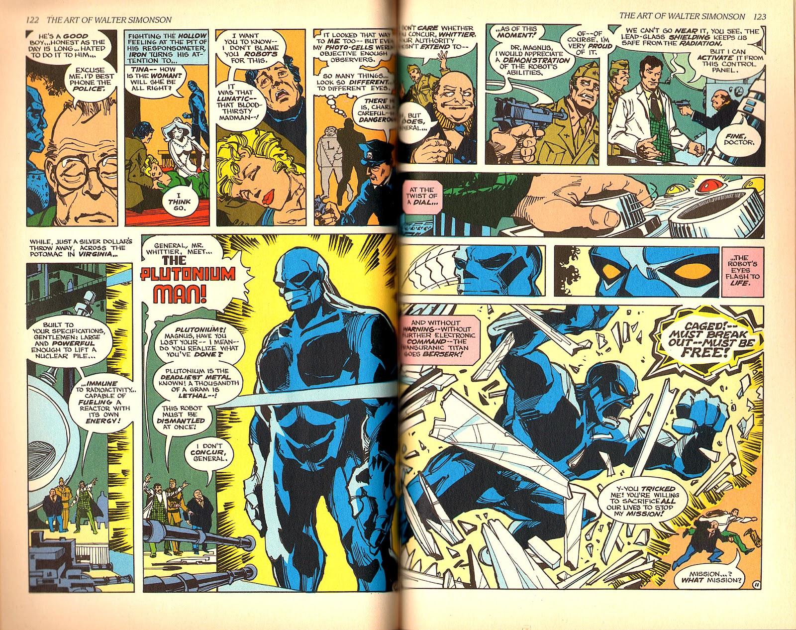 Read online The Art of Walter Simonson comic -  Issue # TPB - 63