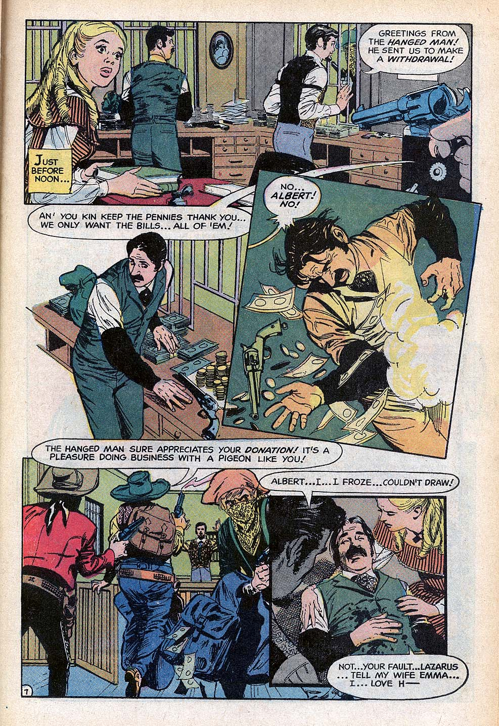Read online All-Star Western (1970) comic -  Issue #3 - 17