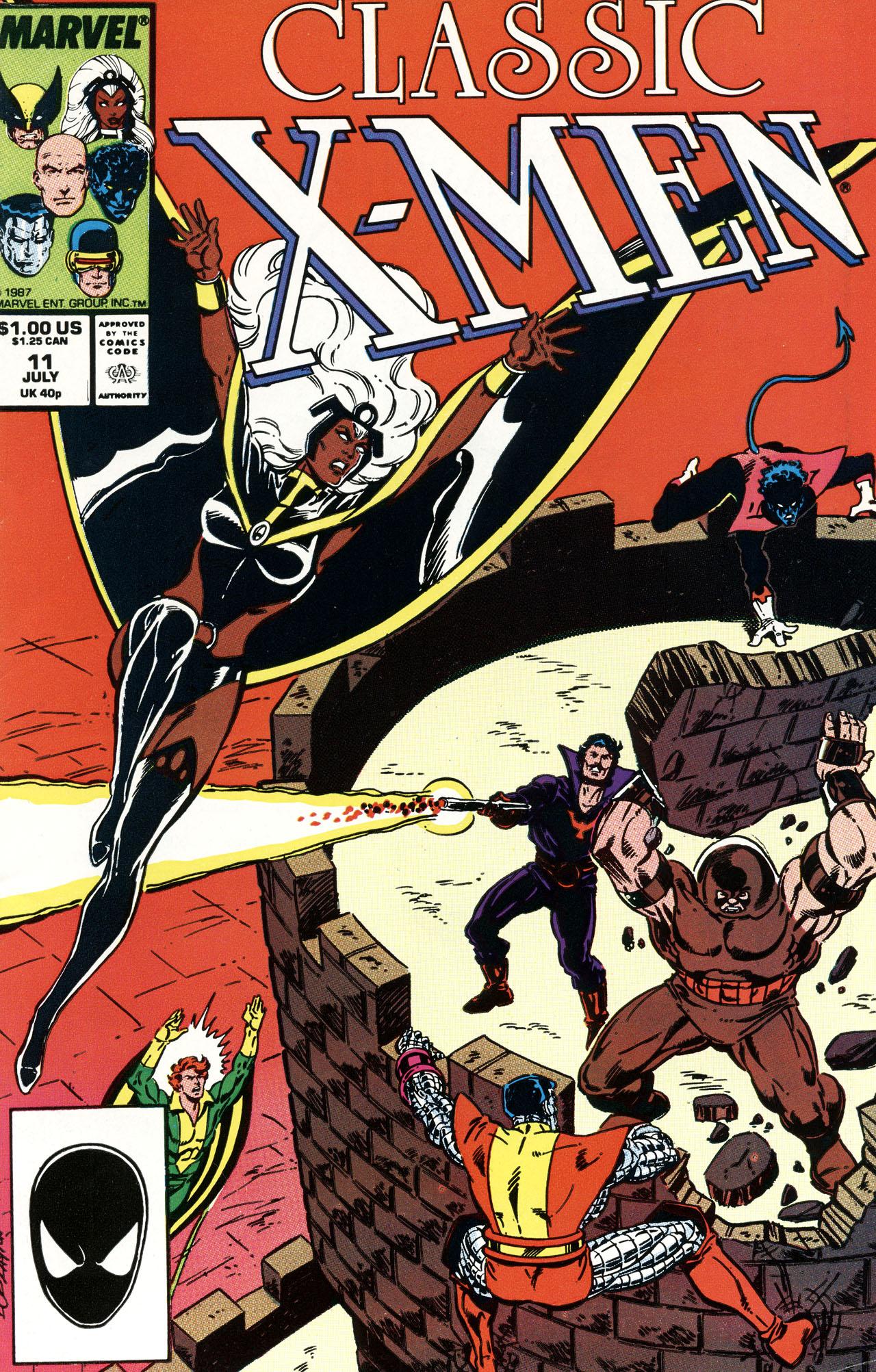 Classic X-Men 11 Page 1