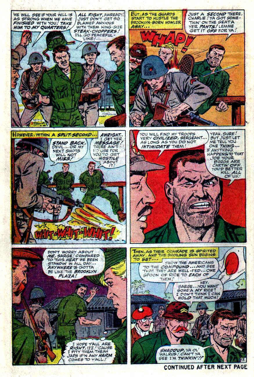 Read online Sgt. Fury comic -  Issue #49 - 18