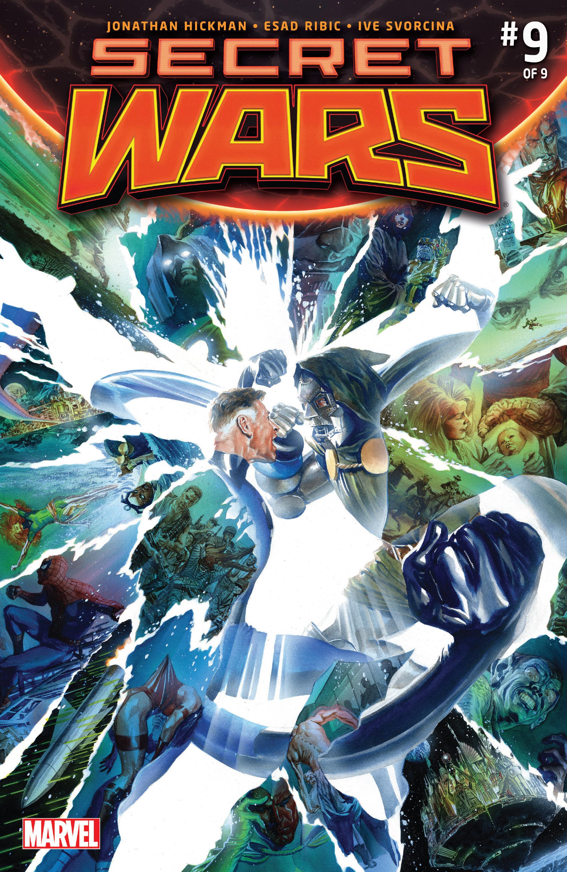 Read online Secret Wars comic -  Issue #9 - 1