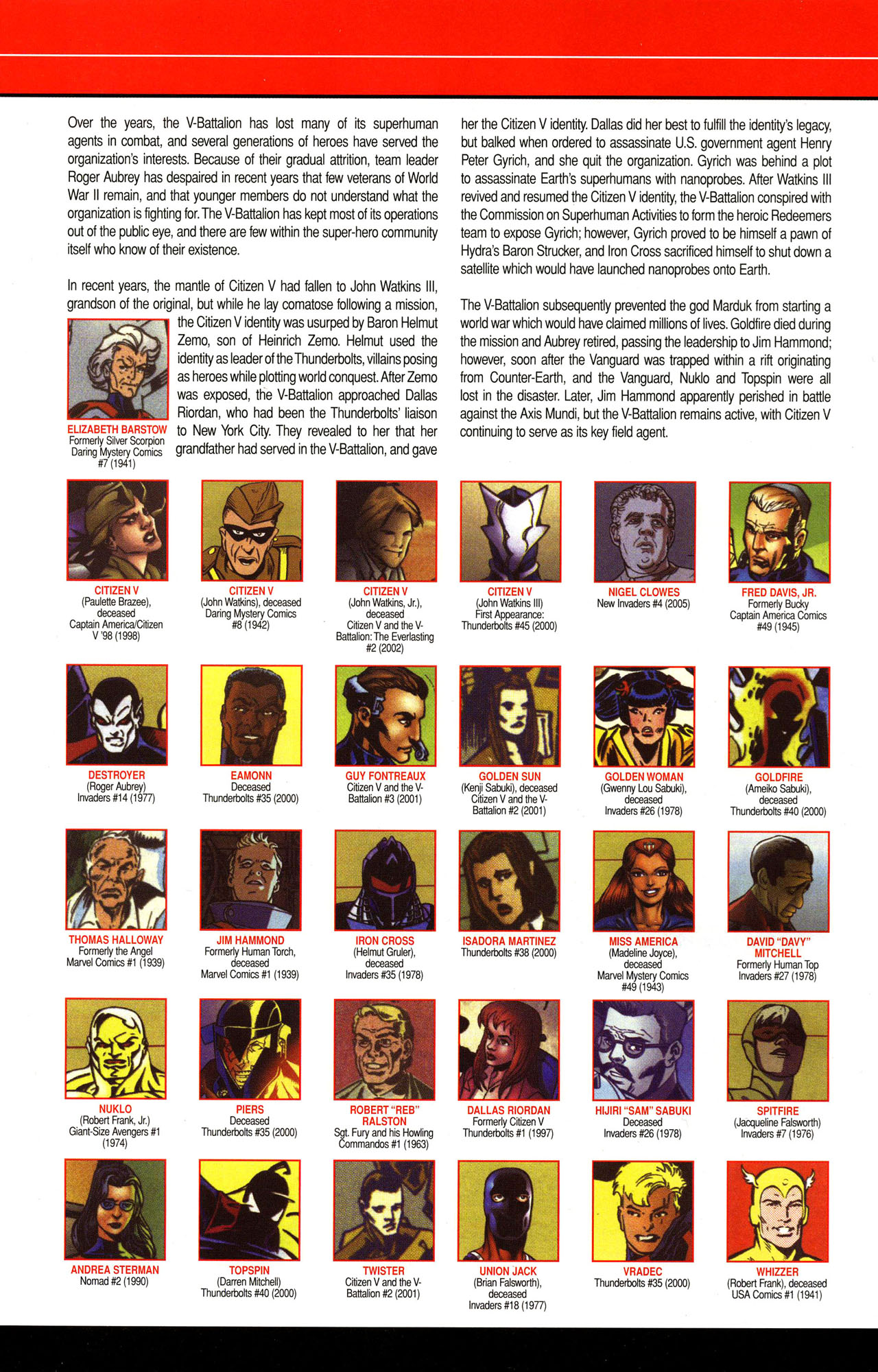 Read online All-New Official Handbook of the Marvel Universe A to Z comic -  Issue #12 - 14