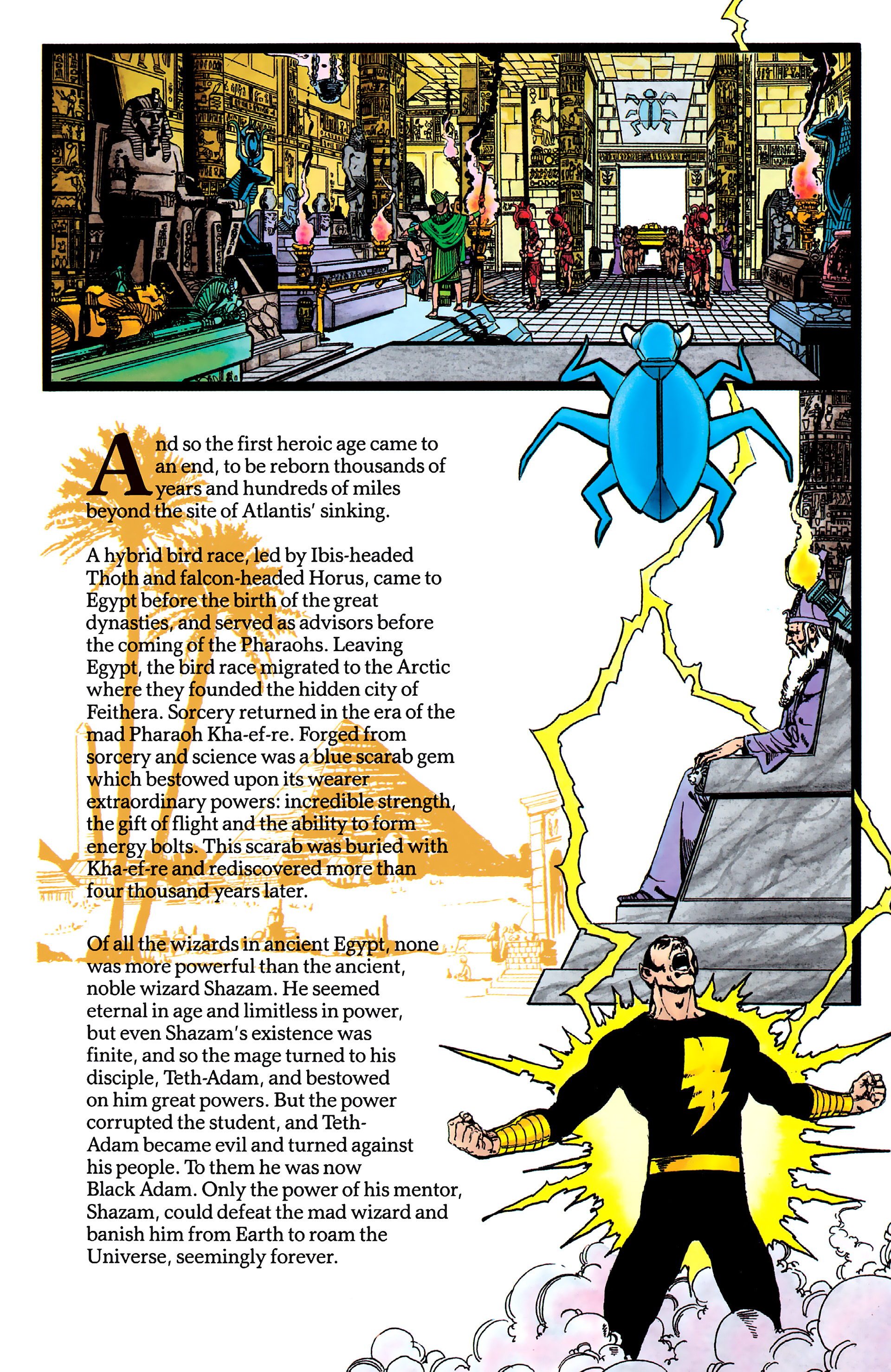Read online History of the DC Universe comic -  Issue #1 - 14