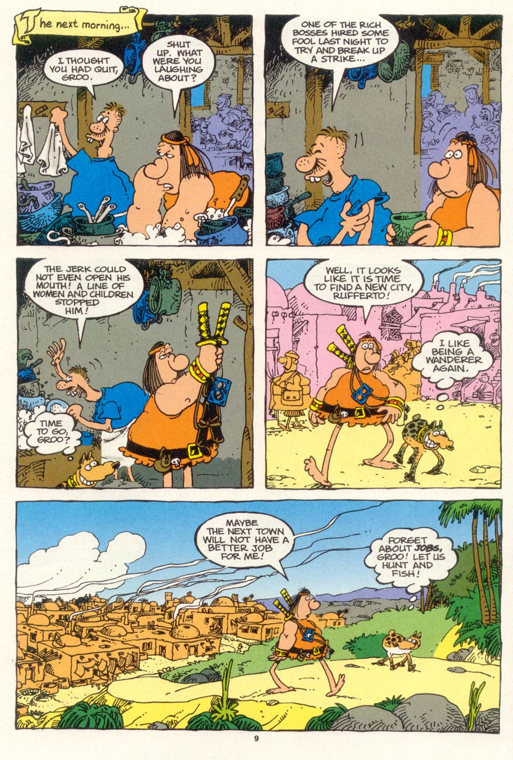 Read online Sergio Aragonés Groo the Wanderer comic -  Issue #102 - 11