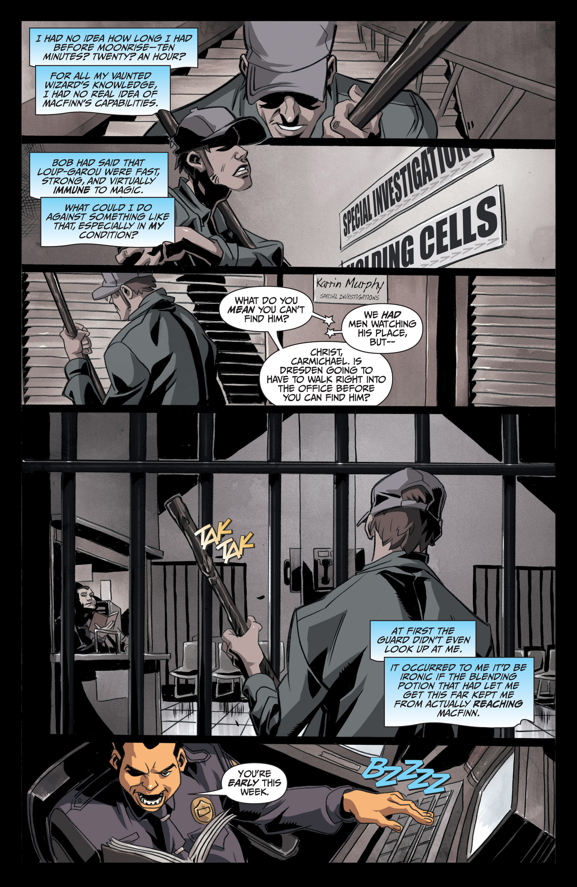 Read online Jim Butcher's The Dresden Files: Fool Moon comic -  Issue #5 - 7