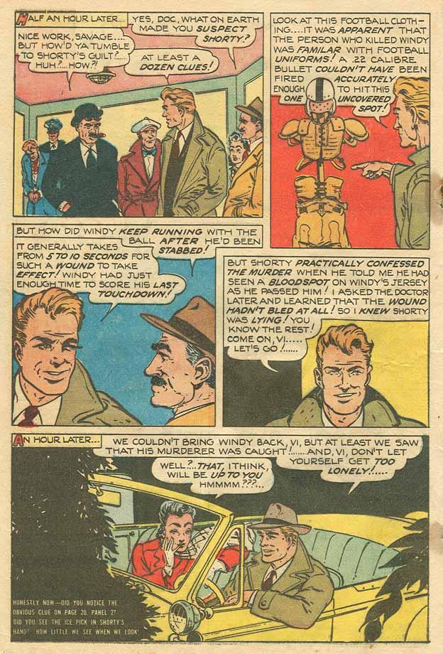 Read online Shadow Comics comic -  Issue #79 - 27