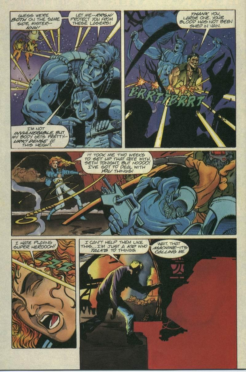 Read online Secret Weapons comic -  Issue #7 - 19