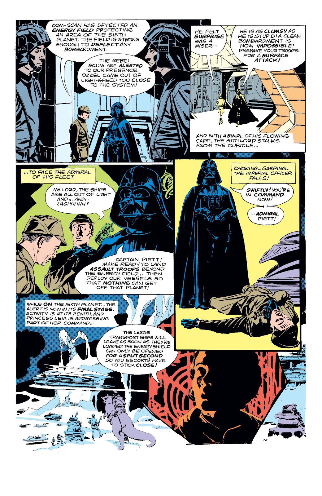 Read online Star Wars Legends: The Original Marvel Years - Epic Collection comic -  Issue # TPB 3 (Part 1) - 30