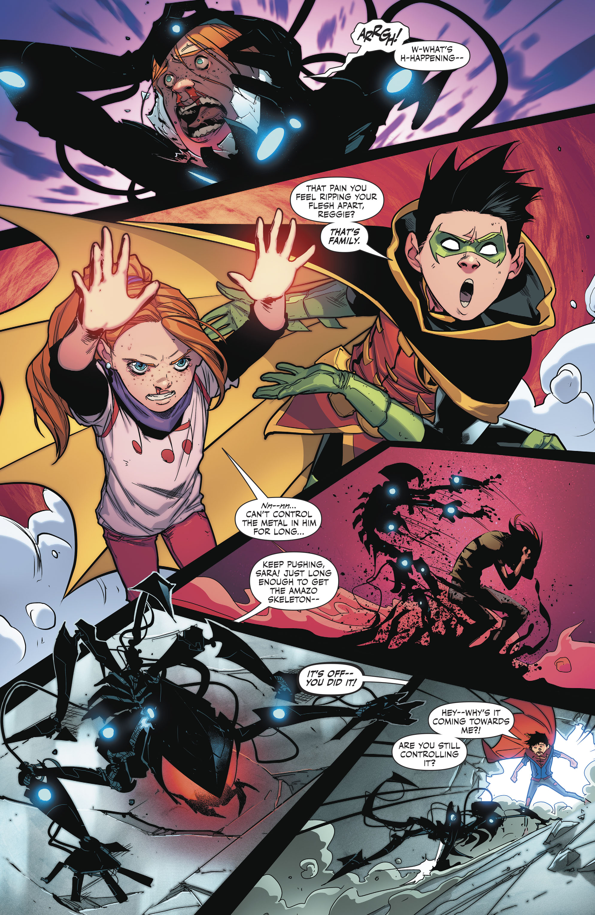 Read online Super Sons comic -  Issue #4 - 18