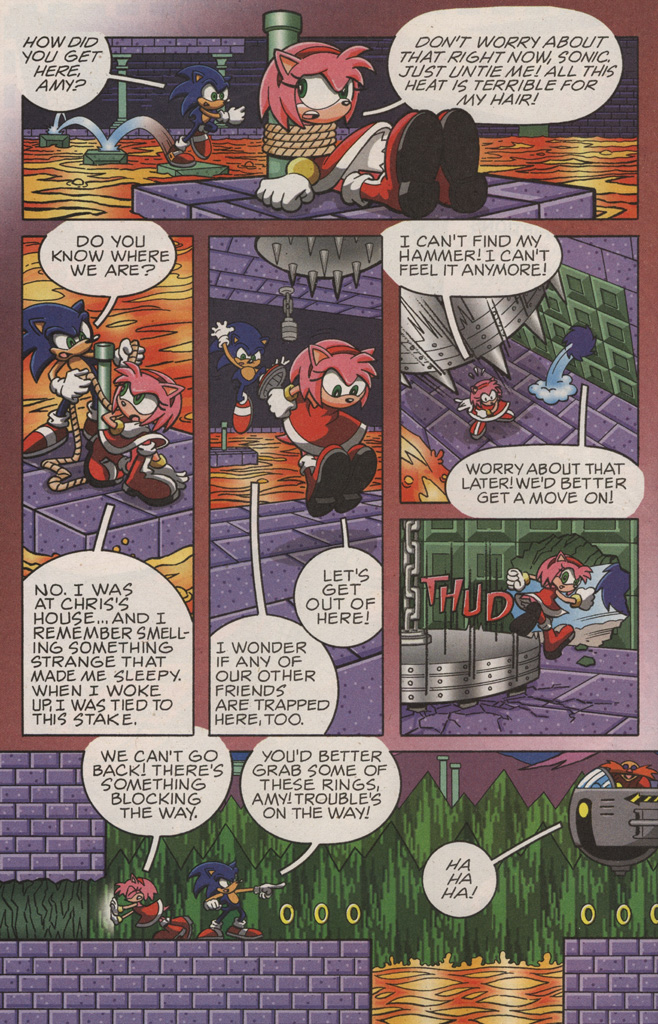 Read online Sonic X comic -  Issue #10 - 26