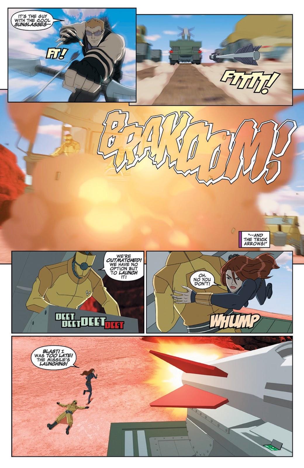 Read online Marvel Universe Avengers Assemble Season 2 comic -  Issue #8 - 4