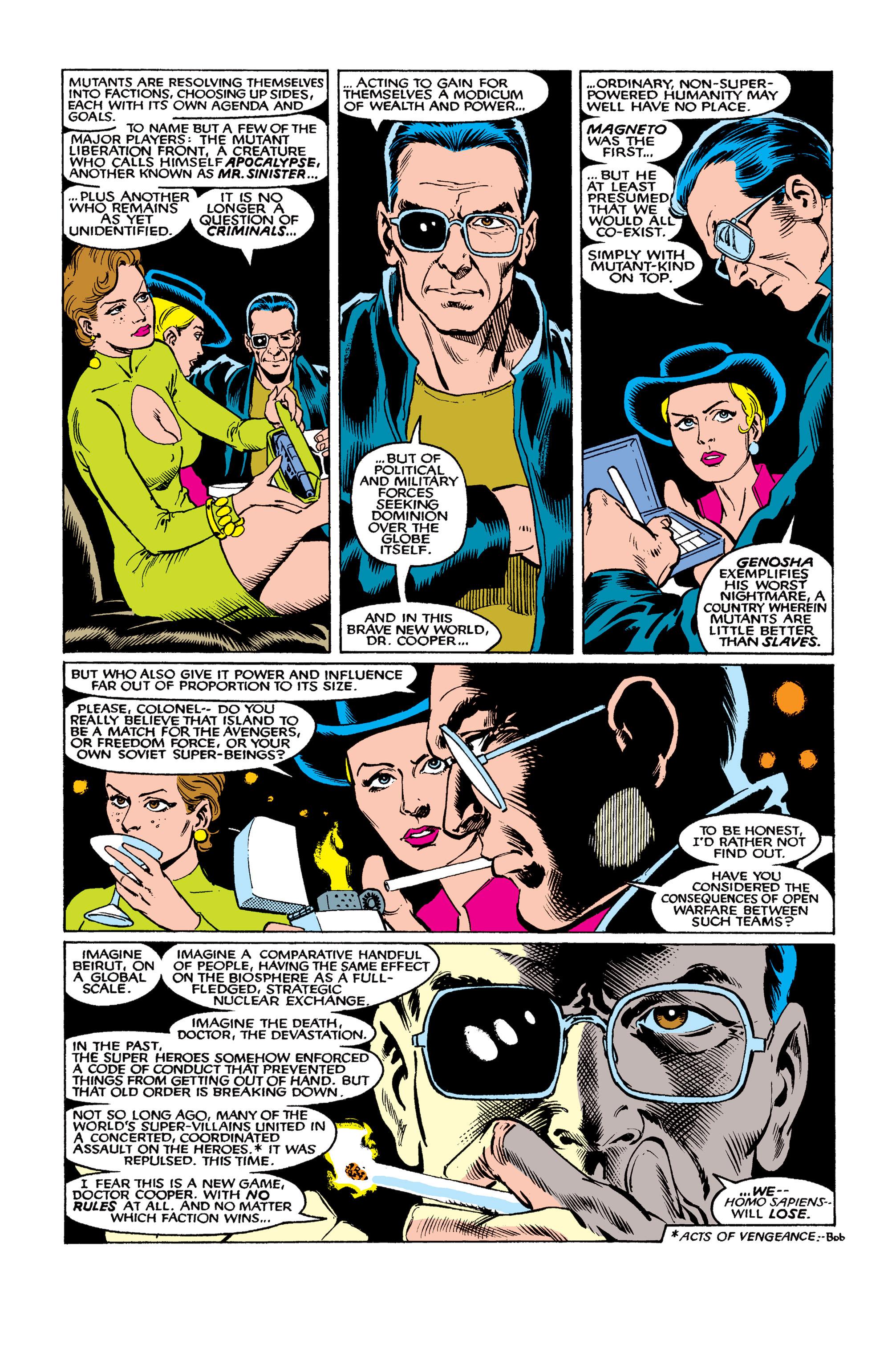 Read online Uncanny X-Men (1963) comic -  Issue #263 - 12