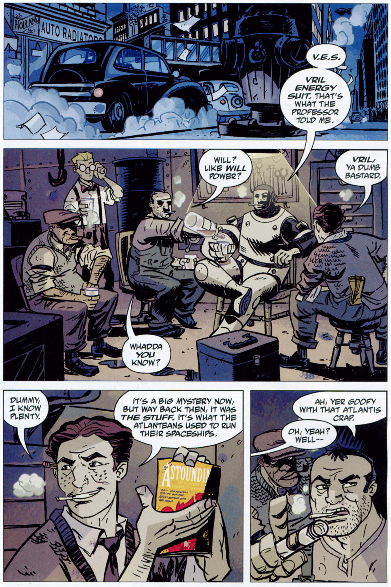 Read online Lobster Johnson: The Iron Prometheus comic -  Issue #1 - 22