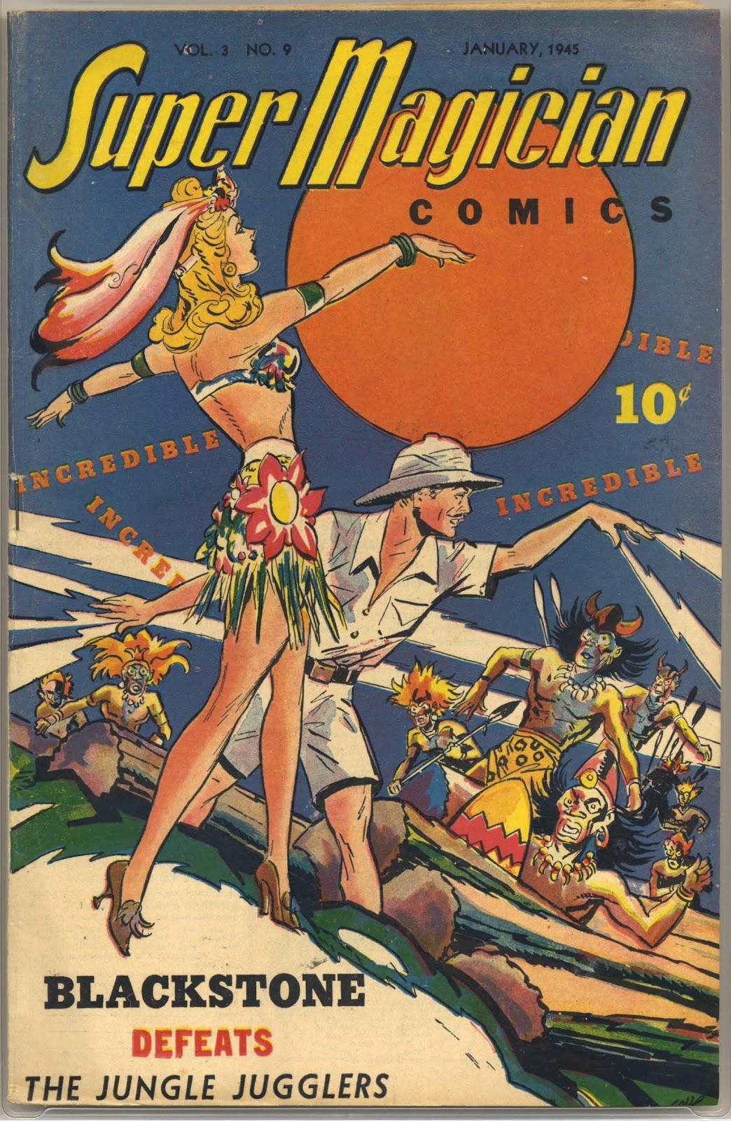 Read online Super-Magician Comics comic -  Issue #33 - 1
