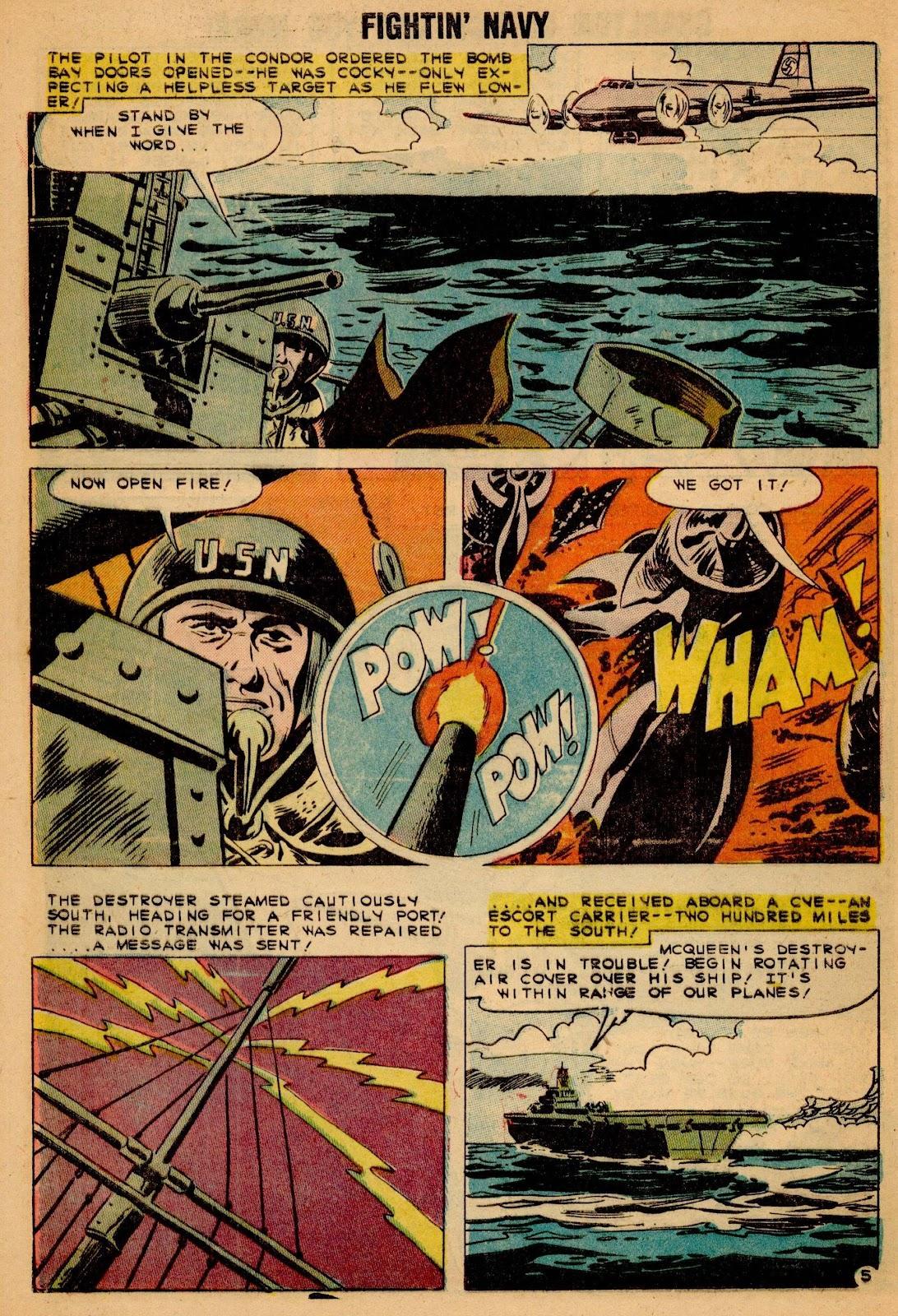 Read online Fightin' Navy comic -  Issue #90 - 8