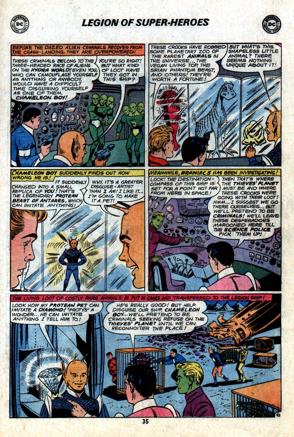 Read online Adventure Comics (1938) comic -  Issue #403 - 37