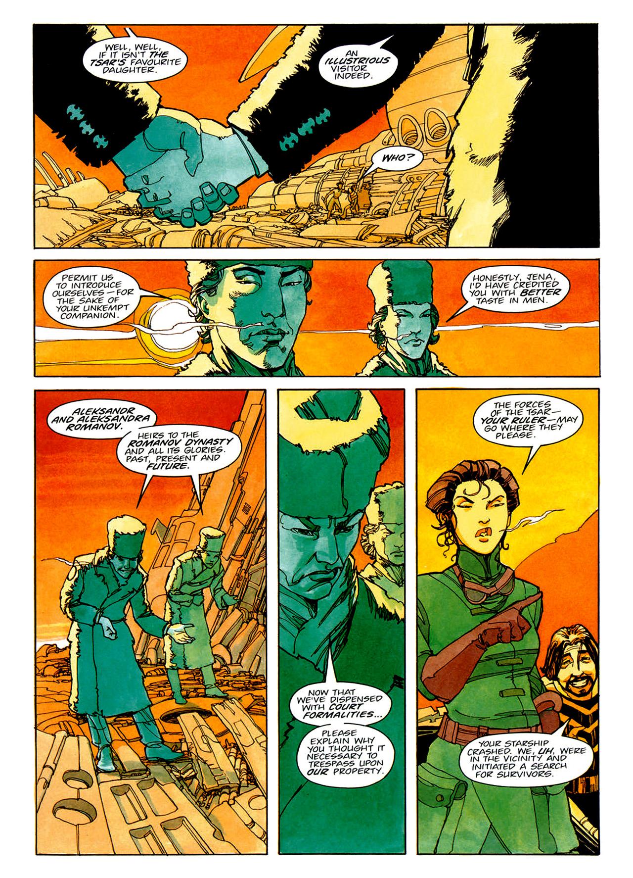 Read online Nikolai Dante comic -  Issue # TPB 1 - 26