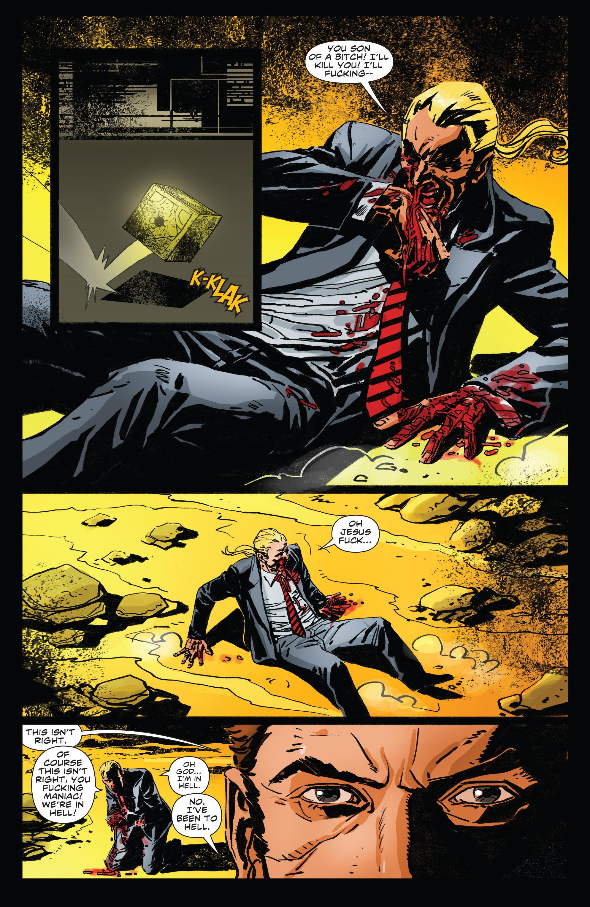 Read online Clive Barker's Hellraiser: The Dark Watch comic -  Issue # TPB 3 - 23