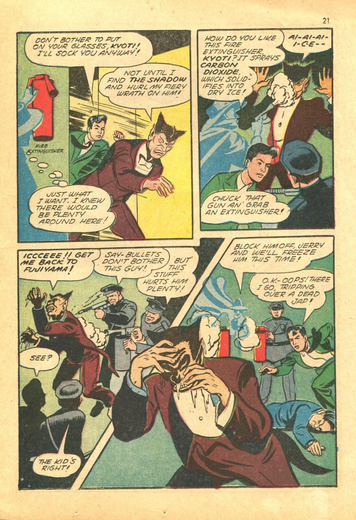 Read online Shadow Comics comic -  Issue #24 - 21