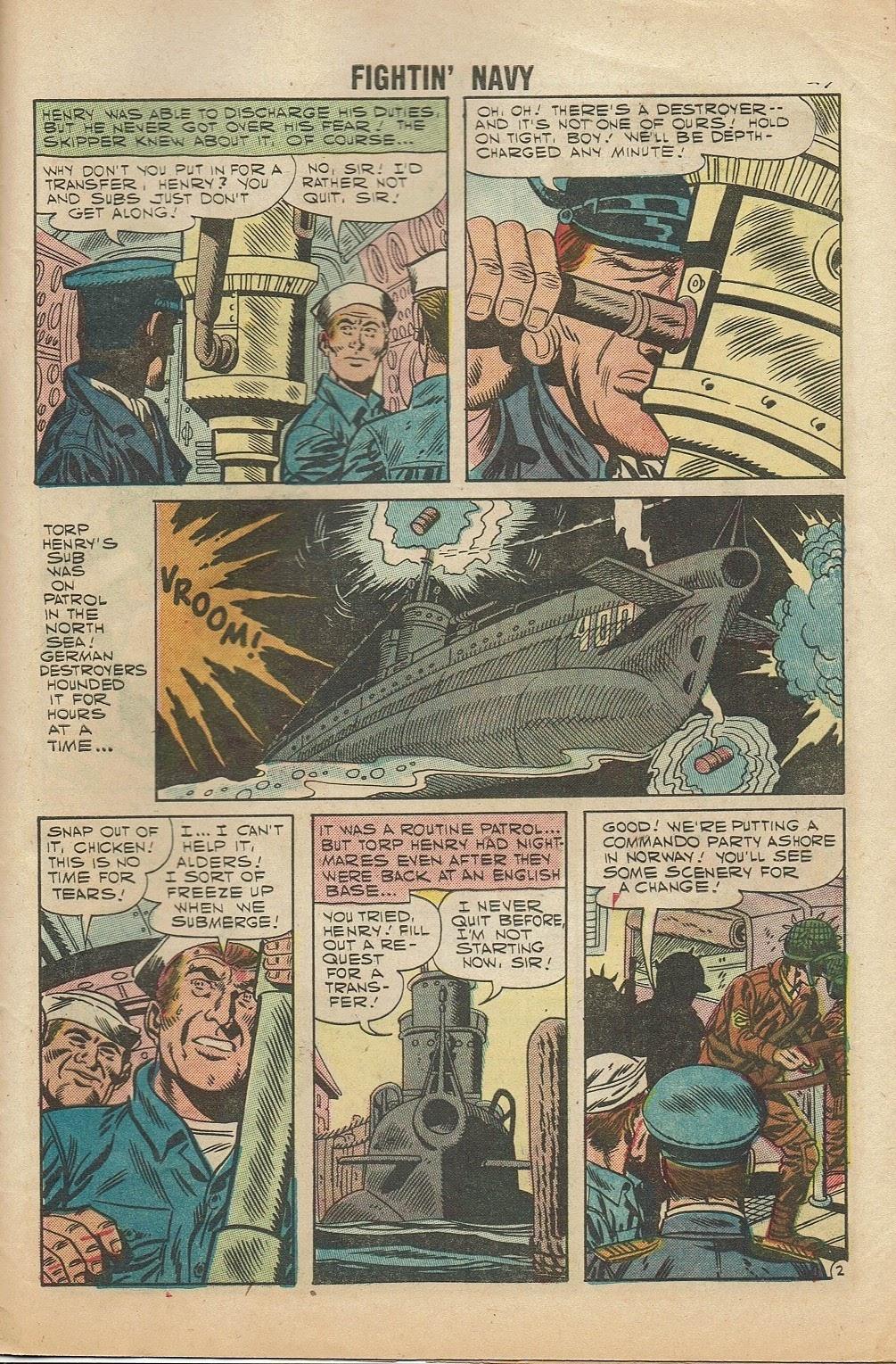 Read online Fightin' Navy comic -  Issue #81 - 29