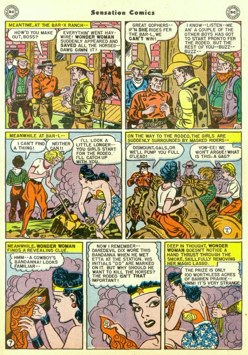 Read online Sensation (Mystery) Comics comic -  Issue #67 - 9