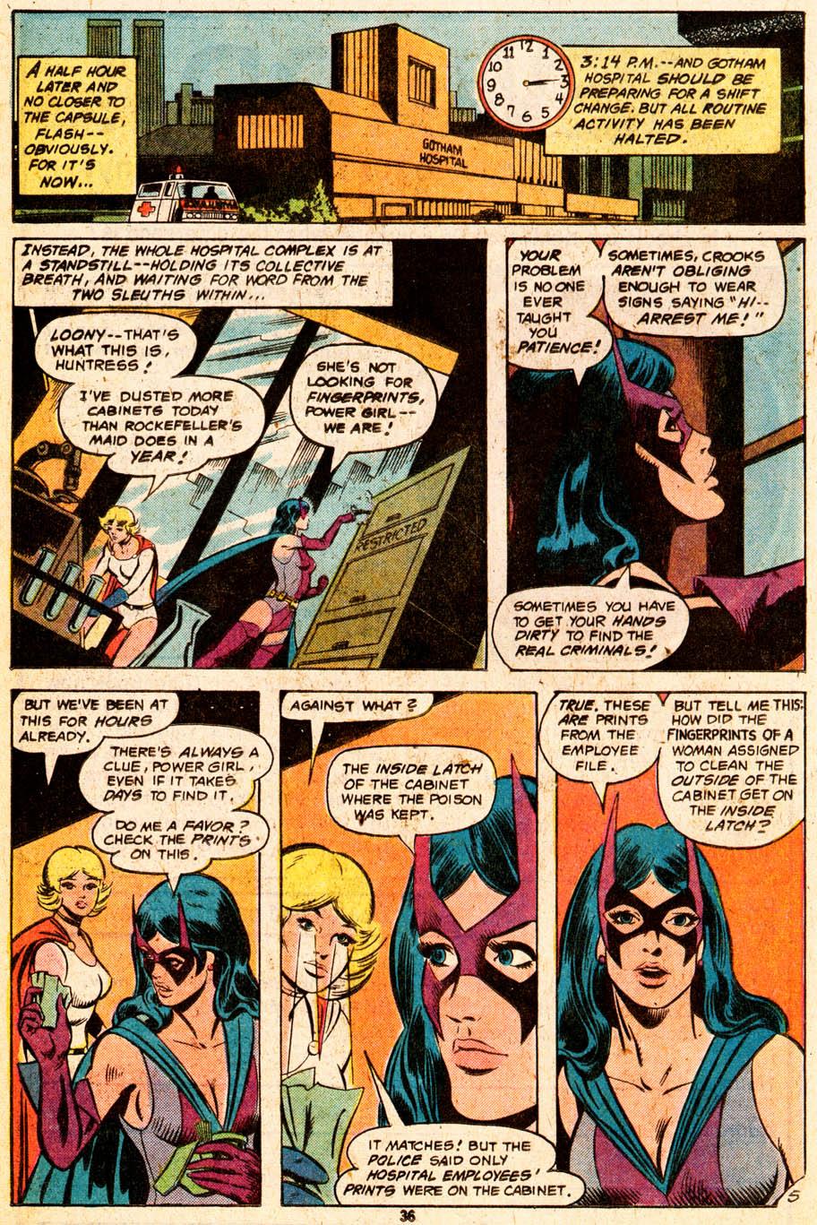 Read online Adventure Comics (1938) comic -  Issue #465 - 36