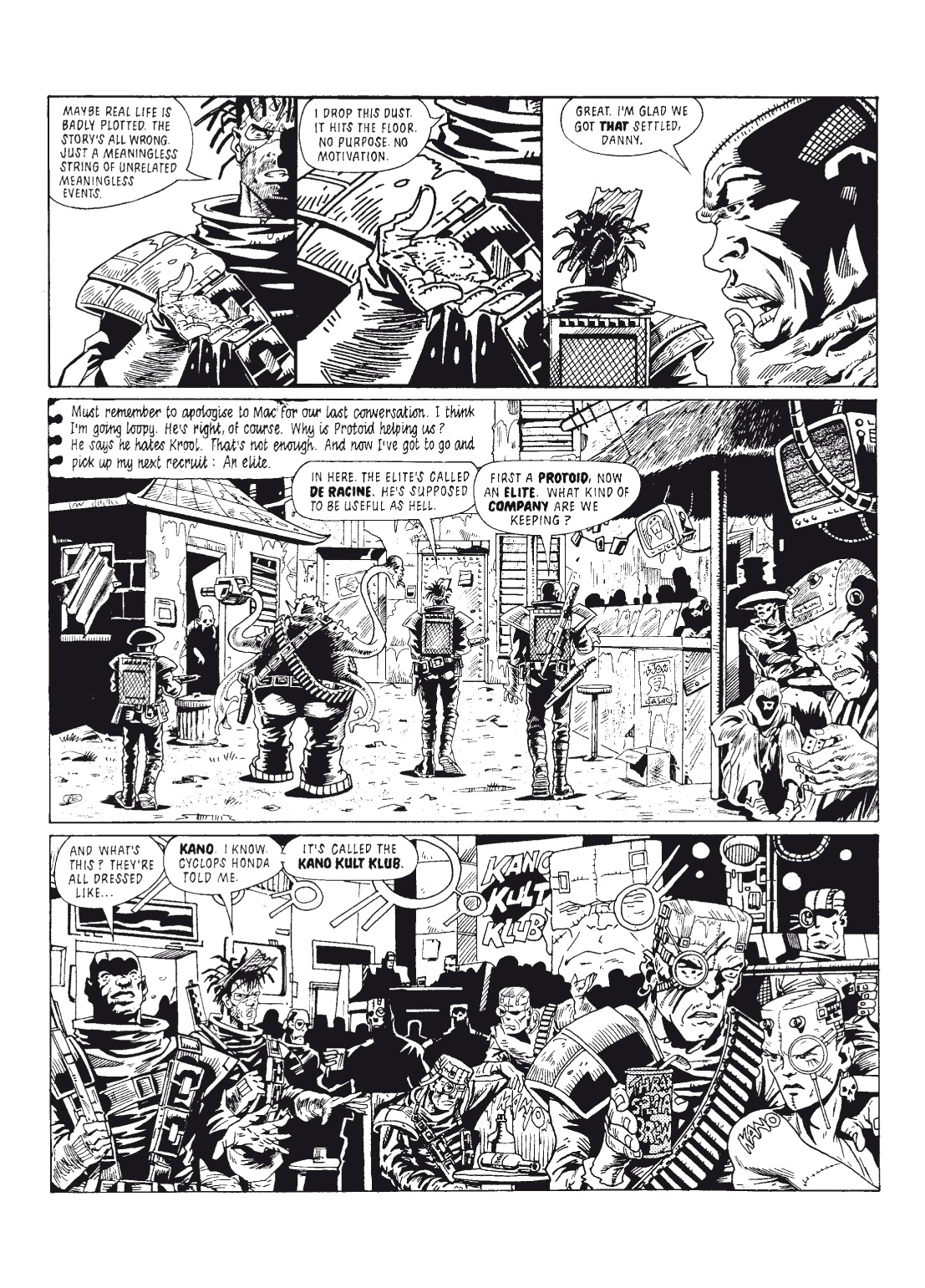 Read online The Complete Bad Company comic -  Issue # TPB - 130