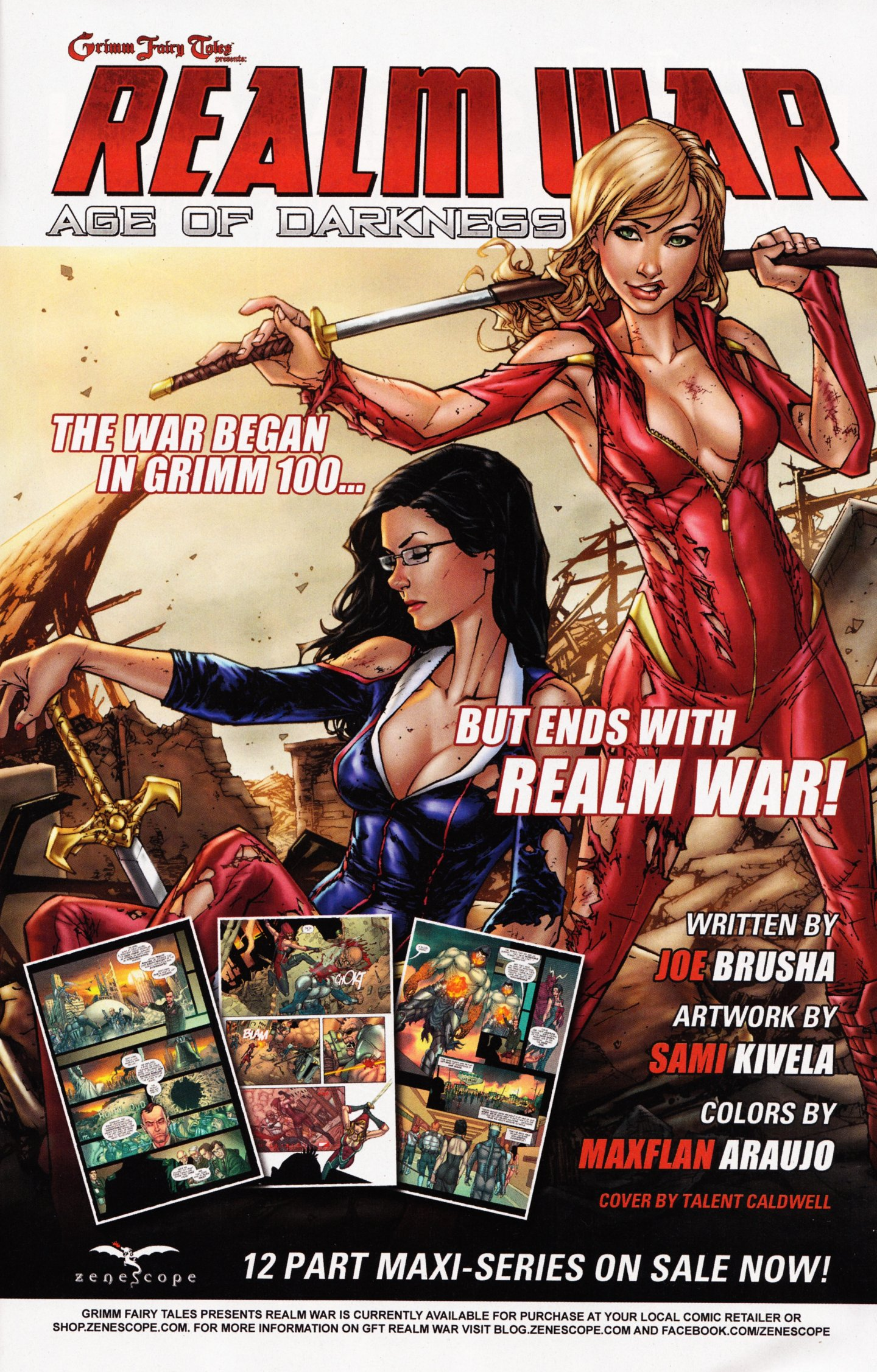 Read online Grimm Fairy Tales vs. Wonderland comic -  Issue #4 - 27
