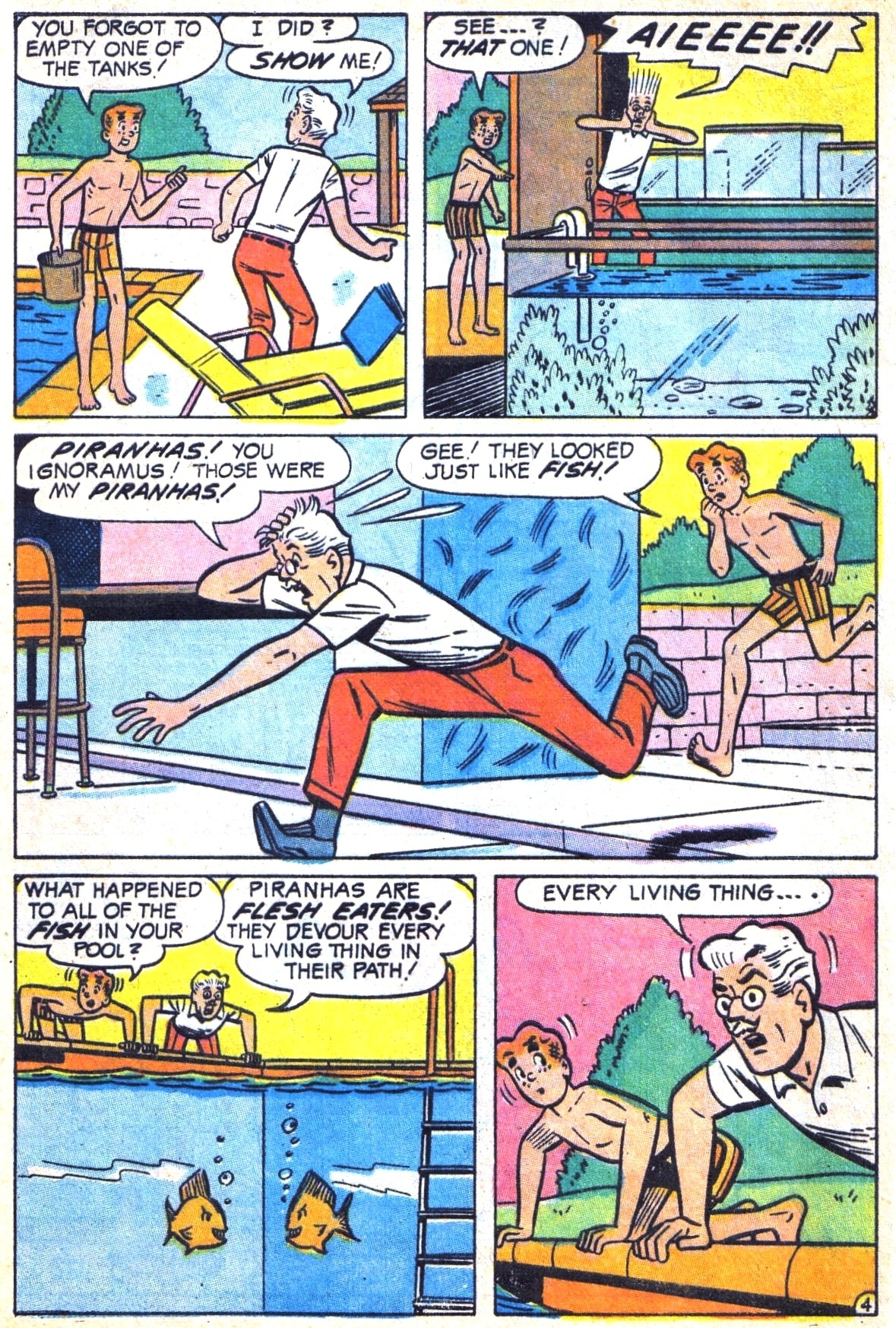 Read online Archie (1960) comic -  Issue #185 - 32
