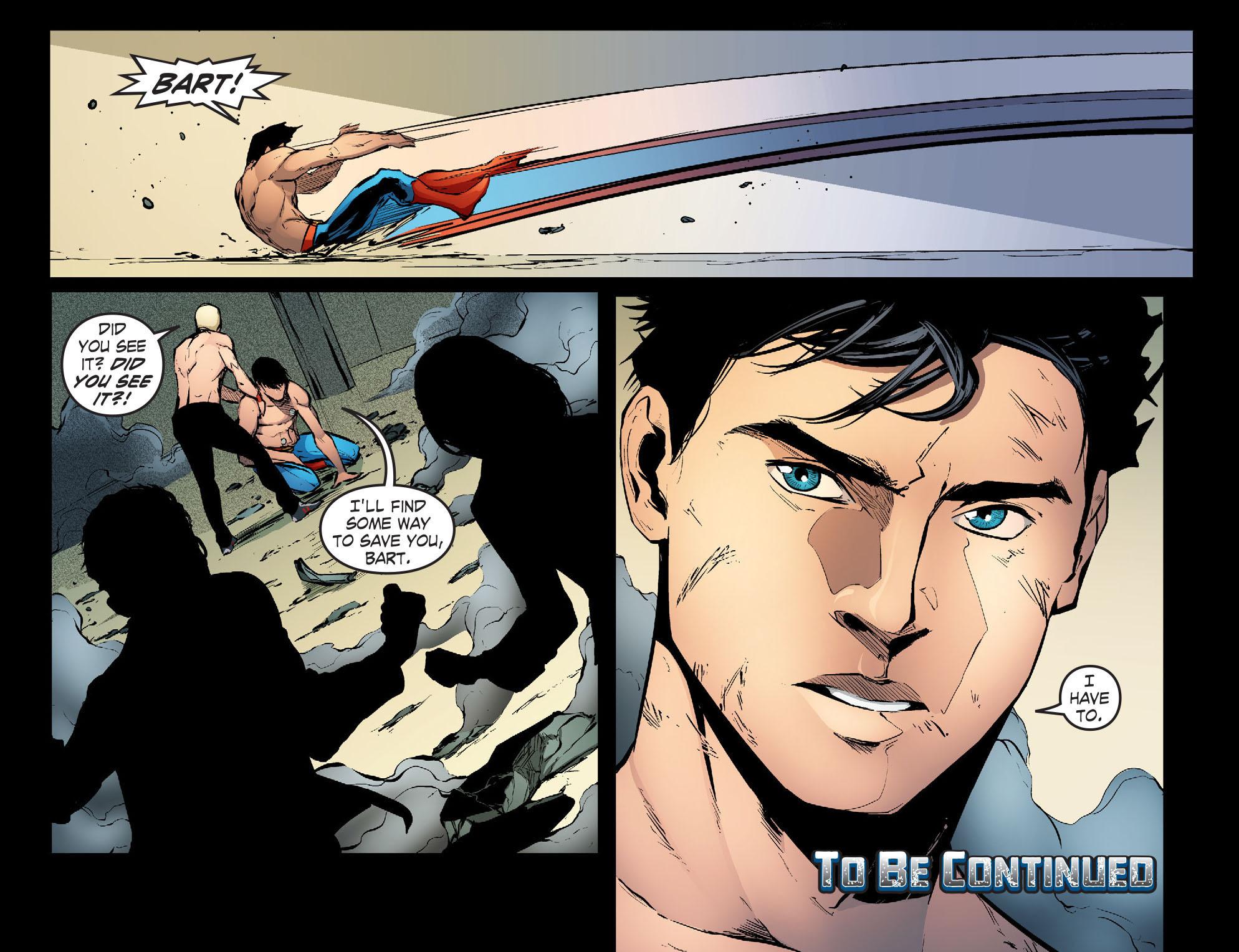 Read online Smallville: Season 11 comic -  Issue #30 - 22