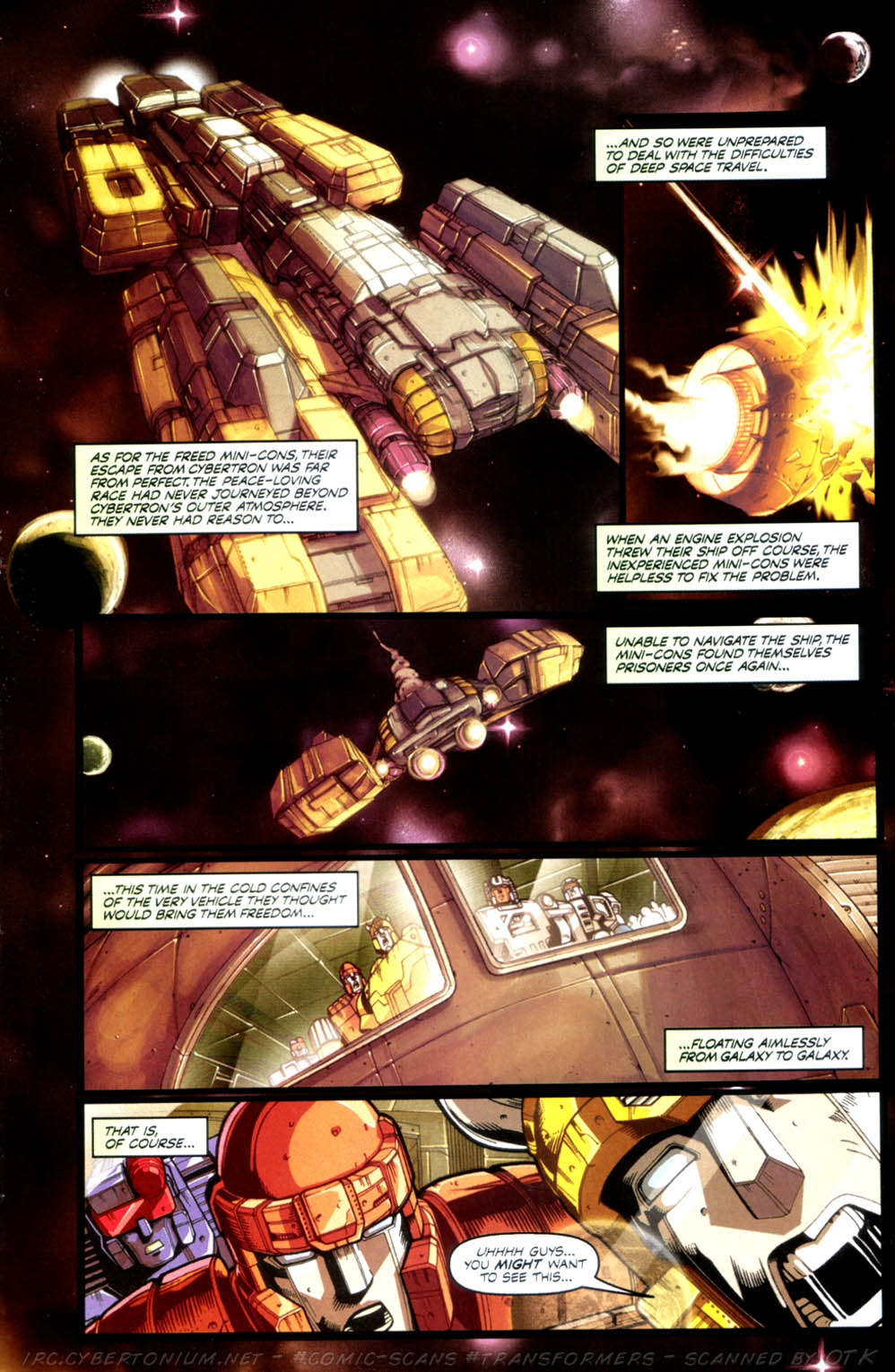 Read online Transformers Armada comic -  Issue #3 - 5