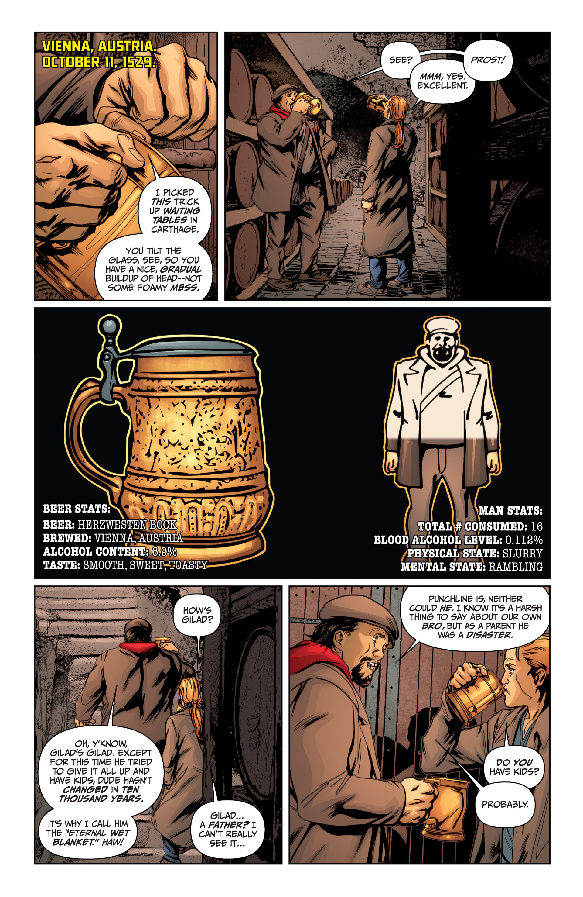 Read online Archer and Armstrong comic -  Issue #15 - 10