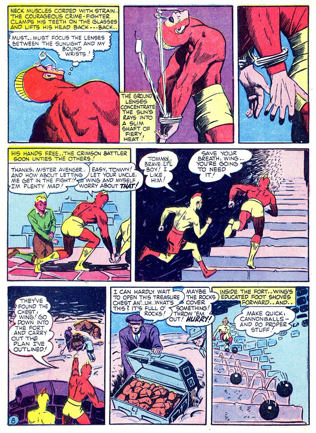 Read online Detective Comics (1937) comic -  Issue #68 - 38
