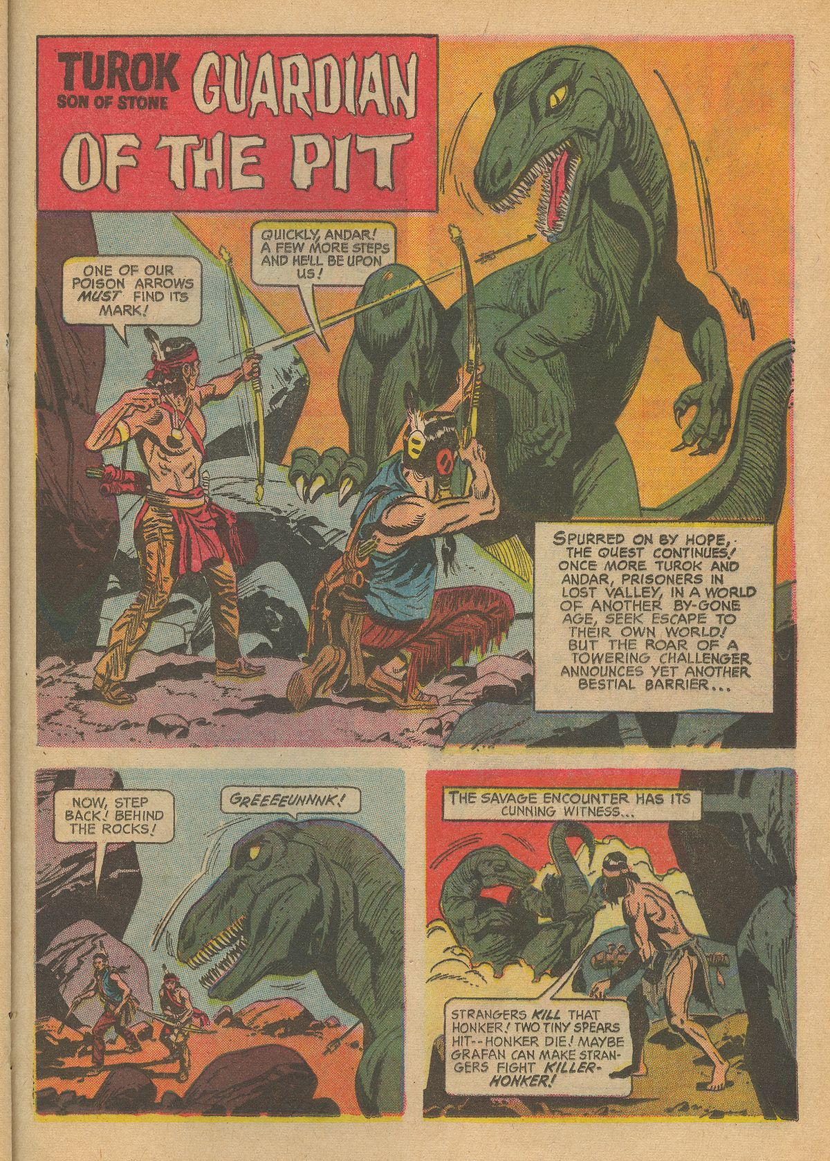 Read online Turok, Son of Stone comic -  Issue #60 - 21