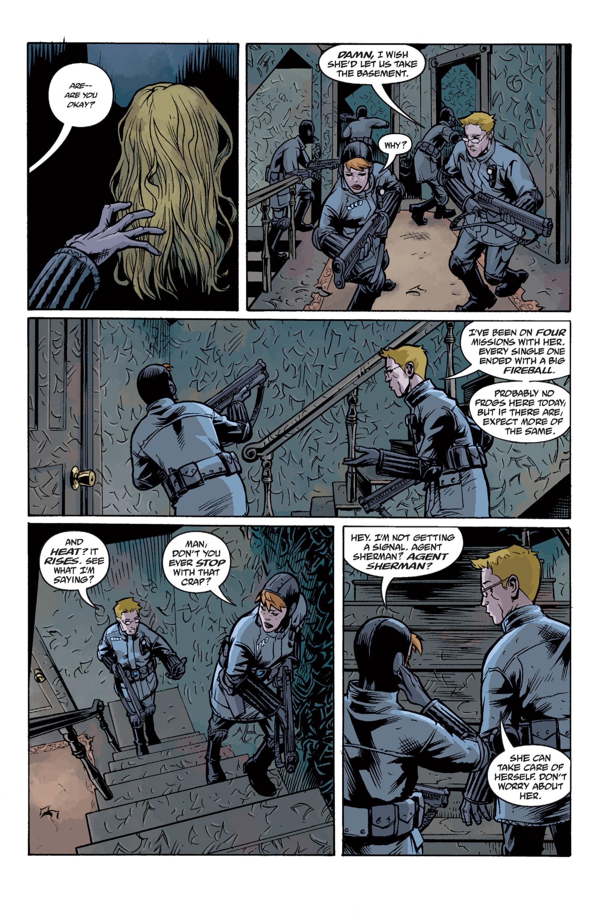 Read online B.P.R.D. (2003) comic -  Issue # TPB 12 - 118