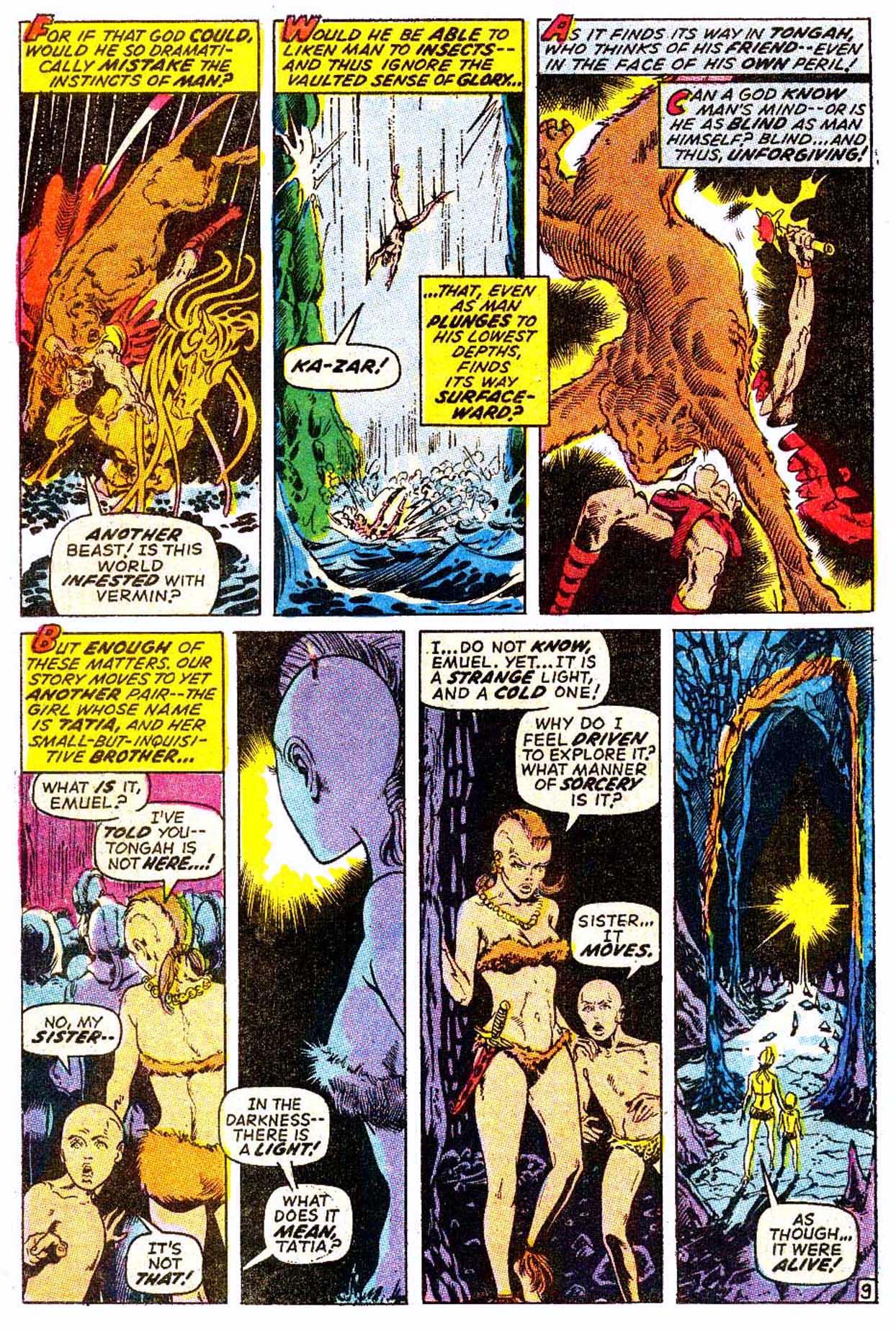 Read online Astonishing Tales (1970) comic -  Issue #6 - 20