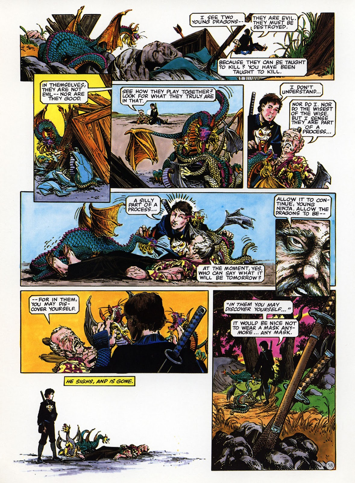 Read online Epic Graphic Novel: Last of the Dragons comic -  Issue # Full - 59