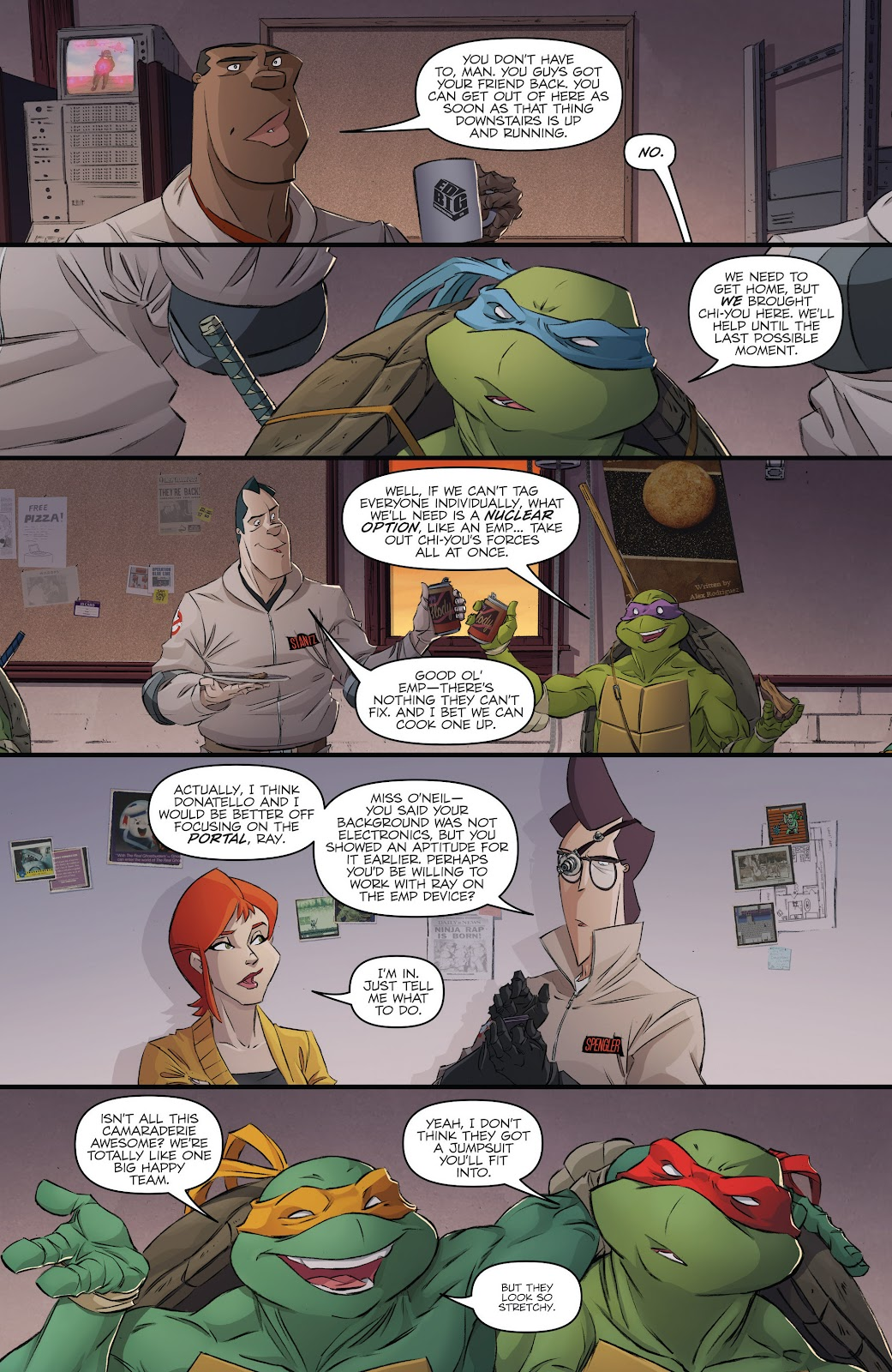 Read online Teenage Mutant Ninja Turtles: The IDW Collection comic -  Issue # TPB 5 (Part 3) - 38