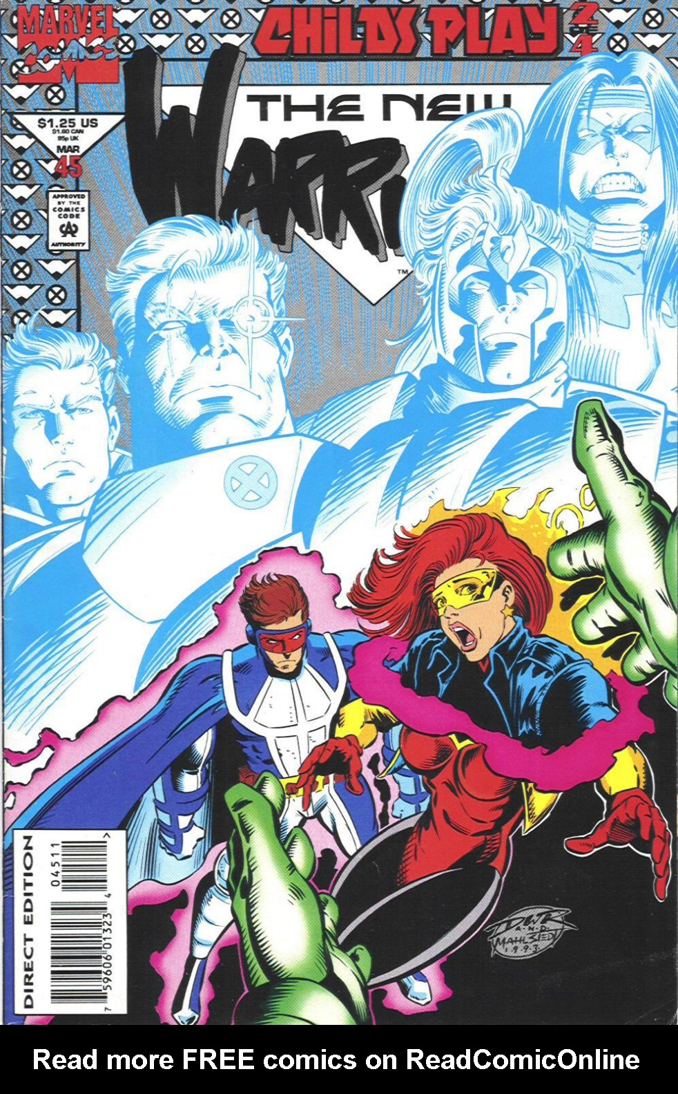 The New Warriors Issue #45 #49 - English 1