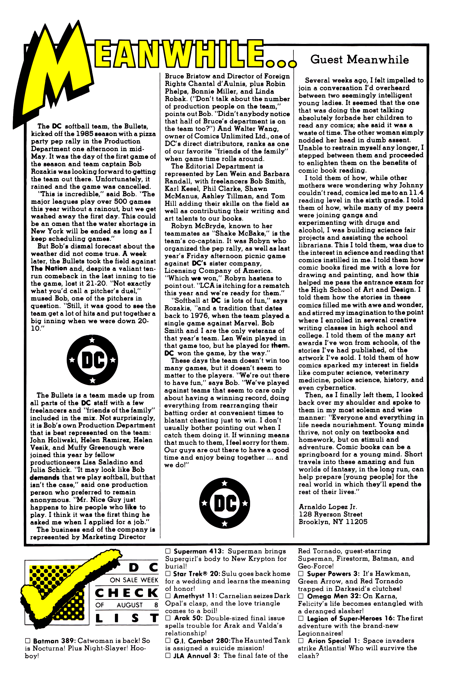 Legion of Super-Heroes (1984) 16 Page 27