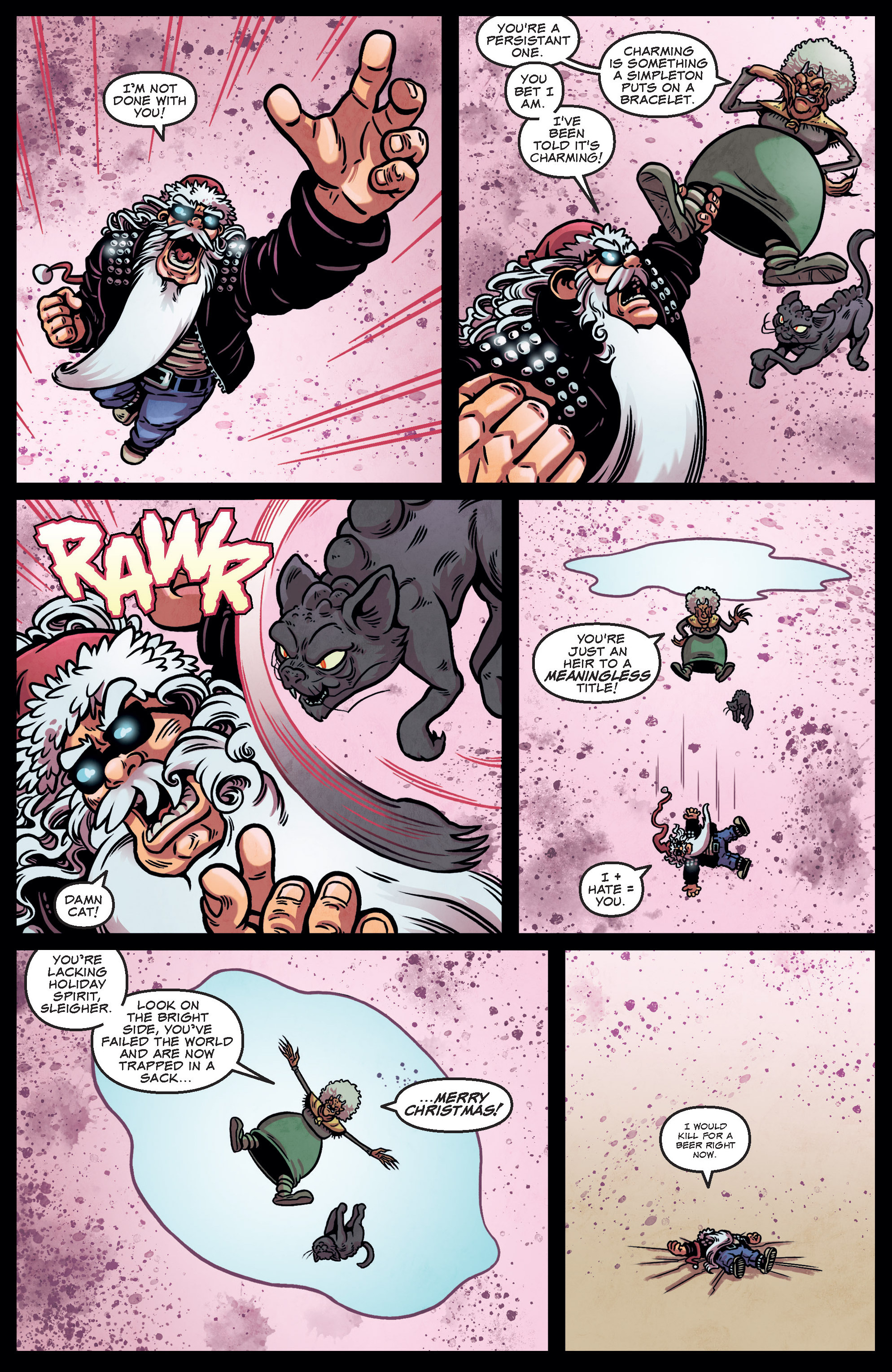 Read online Sleigher comic -  Issue #3 - 7