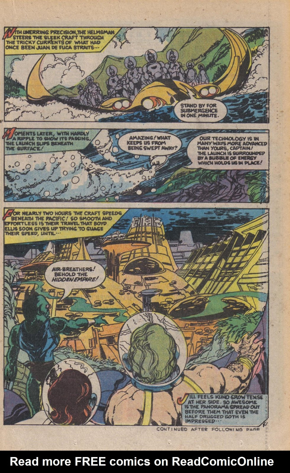 Read online Doomsday   1 (1975) comic -  Issue #10 - 13