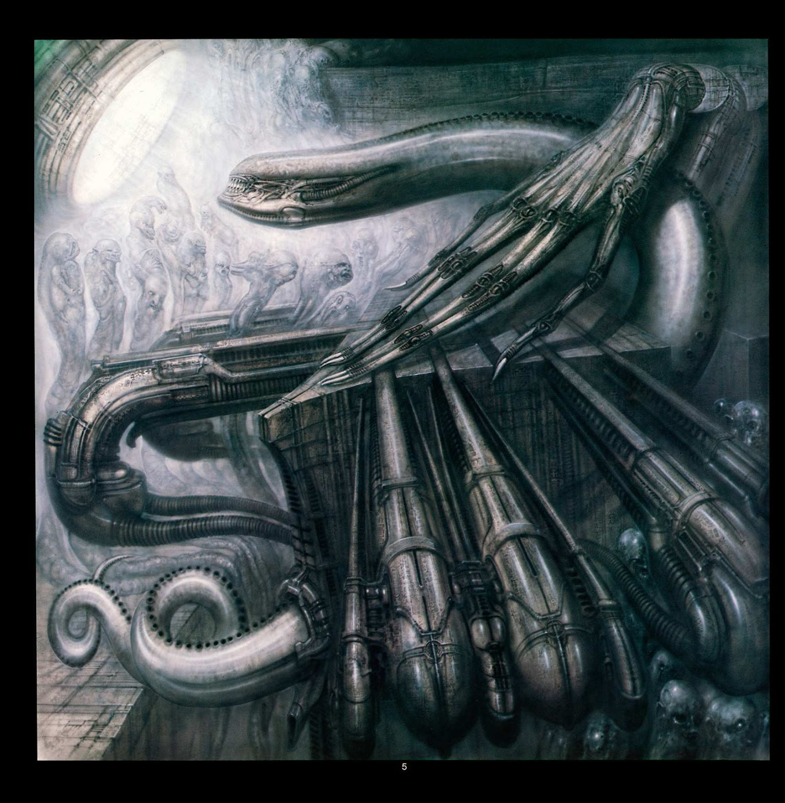 Read online Giger's Alien comic -  Issue # TPB - 7