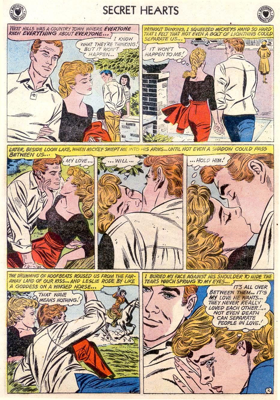 Read online Secret Hearts comic -  Issue #65 - 27