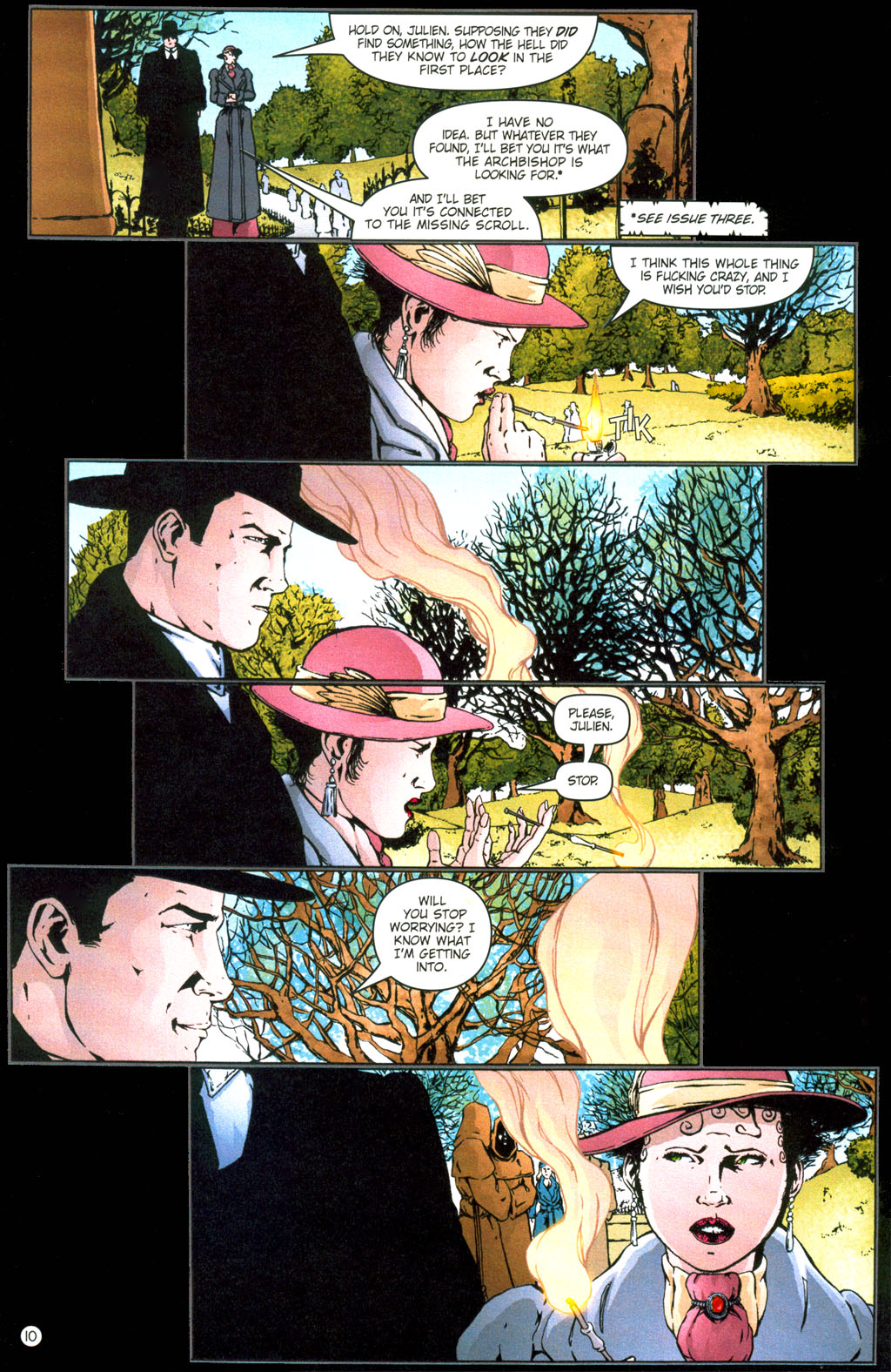 Read online Rex Mundi comic -  Issue #6 - 13