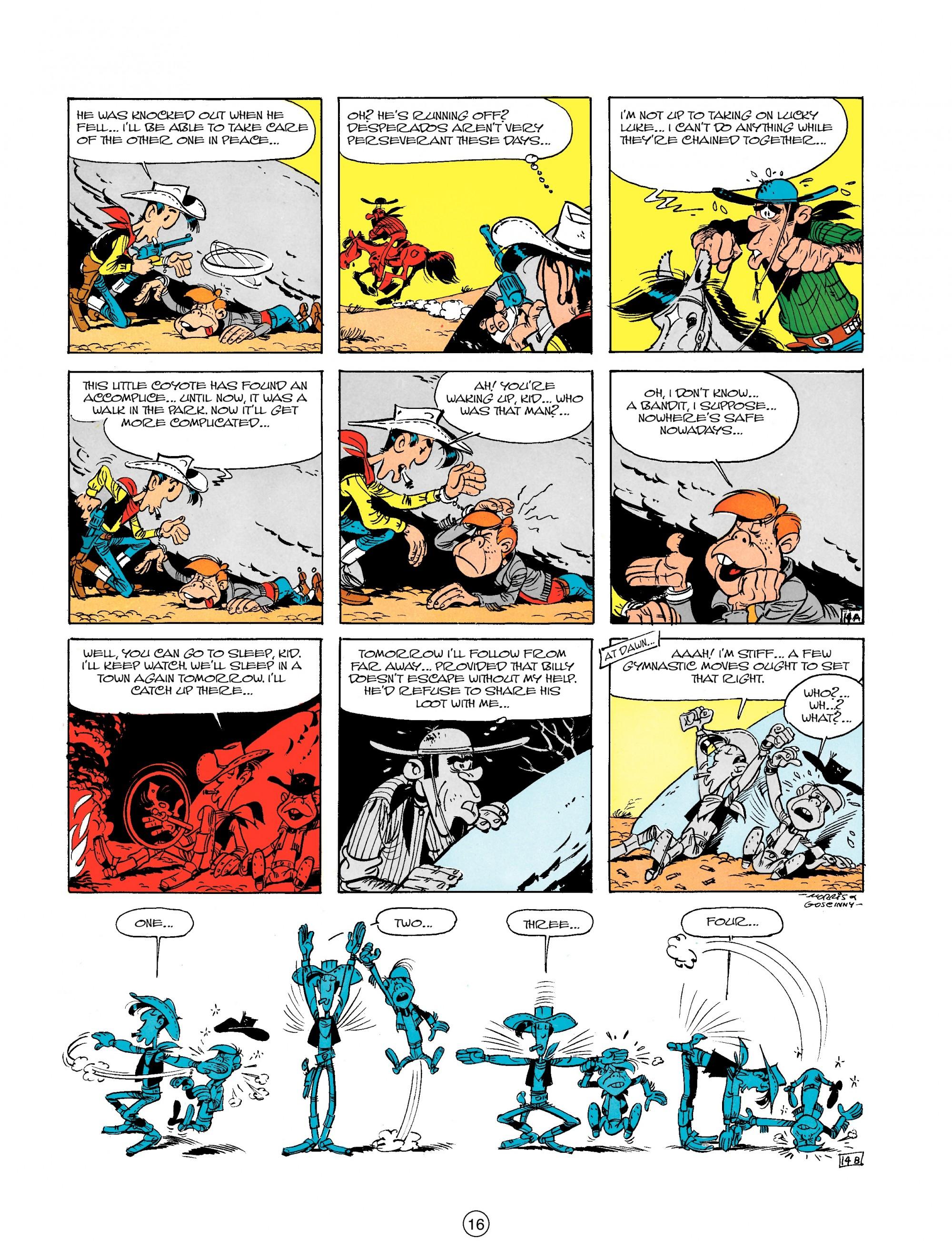 Read online A Lucky Luke Adventure comic -  Issue #18 - 16