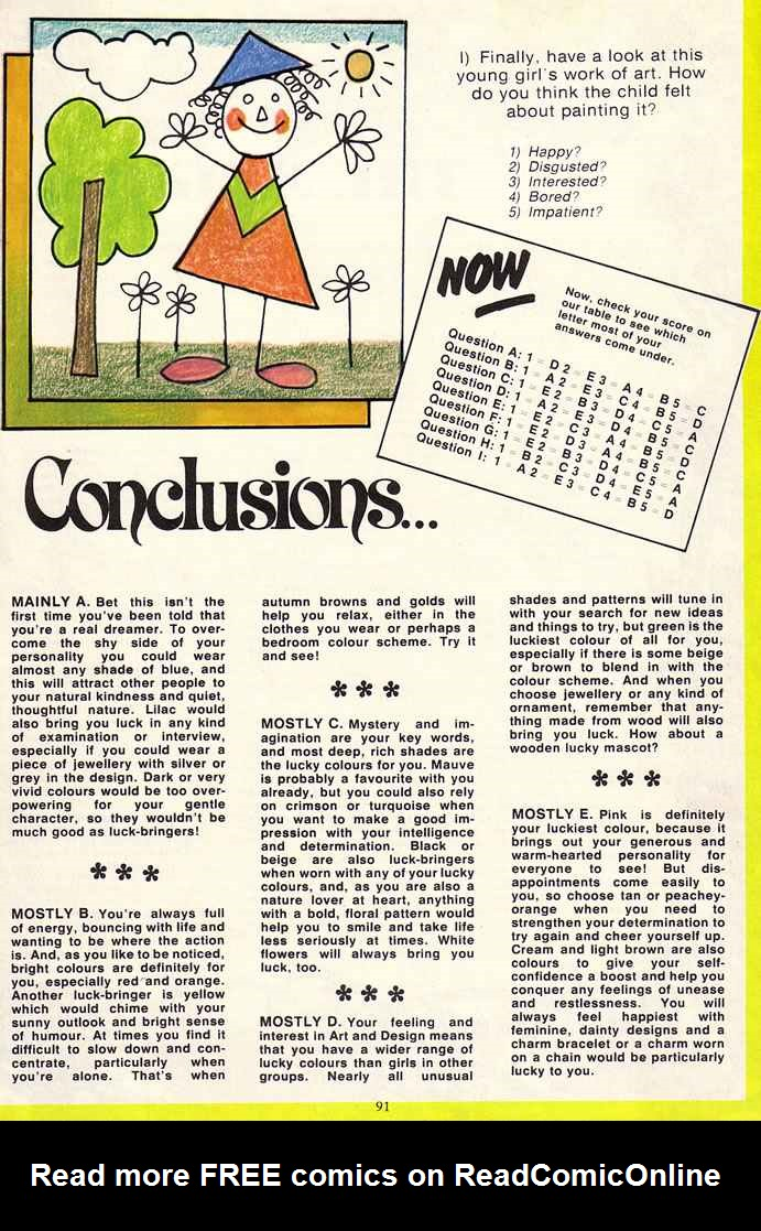Read online Misty comic -  Issue # _Annual 1979 - 91