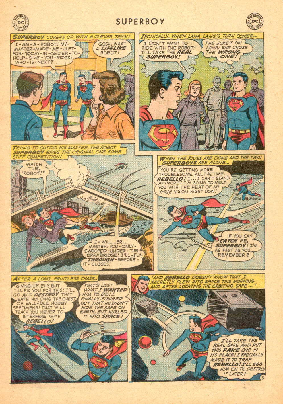 Superboy (1949) issue 72 - Page 10