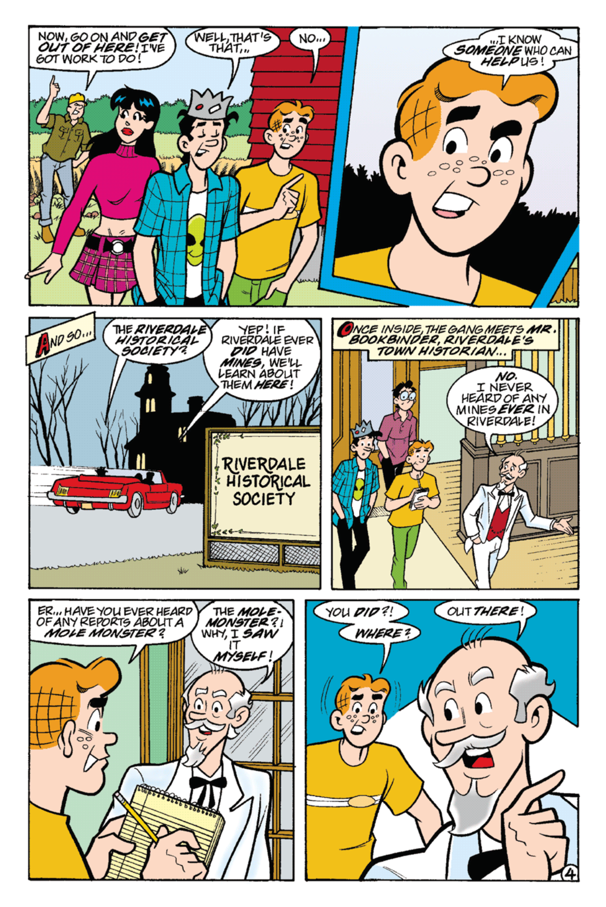 Read online Archie's Weird Mysteries comic -  Issue #22 - 18