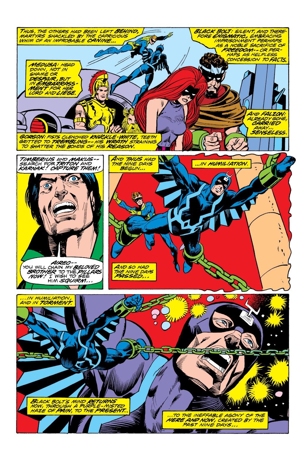 Read online Marvel Masterworks: The Inhumans comic -  Issue # TPB 2 (Part 1) - 90